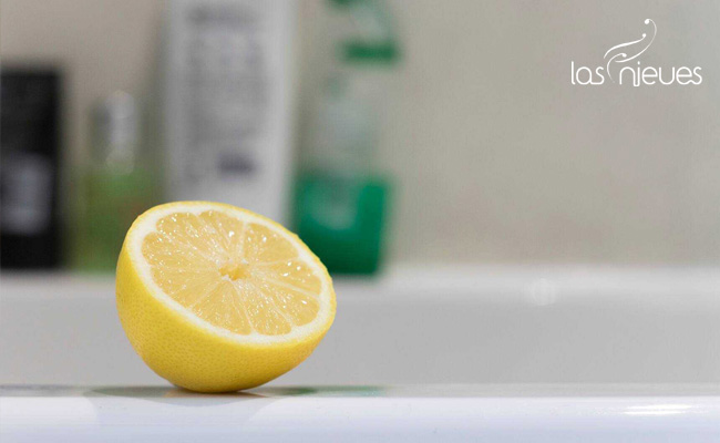 el limon como producto natural para limpiar la casa